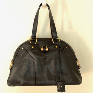 YSL large black Muse bag, w/bag and tags EXCELLENT